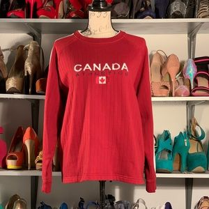 CANADA Weather Gear Athletics Sweater size s